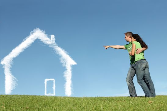 new house buyers concept for mortgage, home loan